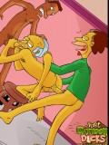 Simpsons gay orgy